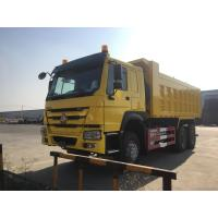 Quality SINOTRUCK HOWO 6x4 420HP 10 Wheeler Heavy Duty 30 Tons Tipper Trucks for sale