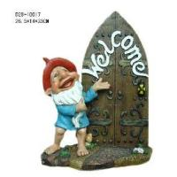 Quality Polyresin Decorative Gnome Figurine (D29-10017) for sale