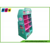 China Retail Advertising PDQ Retail Display Eight Pockets For Games Promotion POC041 on sale