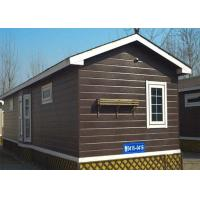 China Maldives Sandwich Panel Prefab House , Low Cost Prefabricated Houses 3 Bedrooms With Toilet on sale