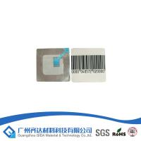 Quality Super Magnetic Key Barcode Security Labels With Double Coated Acrylic - Based Adhesive for sale