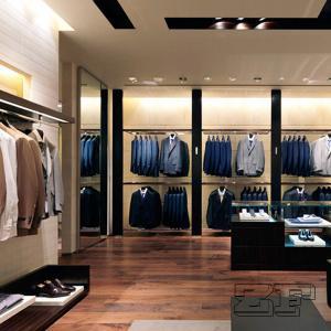 Quality Most popular big brand garment shop interior design for sale