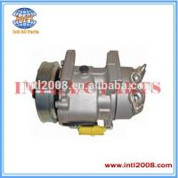 Buy cheap SD6V12 Auto Ac compressor for PEUGEOT 307 / PARTNER 6453LS 6453JL from wholesalers