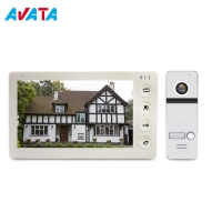 Quality New Design Unlock High Resolution Screen Video Door Phone Doorbell Intercom for sale