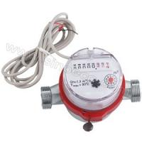 Quality Russia market Single Jet Dry Type universal Vane Wheel Brass impulse Water Meter for sale