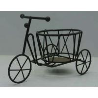 Quality metal tricycle flower pot stand for sale
