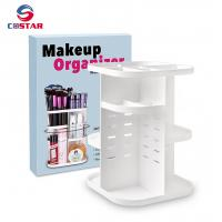Quality China trusted supplier new rotating makeup brush organizer makeup organizer for sale