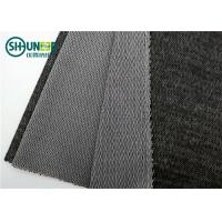 Quality 55% Polyester 45% Viscose 140gsm Brushed Warp Knit Interlining Woven Fusible Interlining PA / PES Textile for Suits for sale