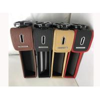 Long Life Spend Leather Car Seat Gap Pocket With Cup Holder SGS Certification