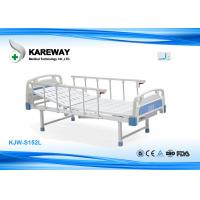 Quality Single Crank Manual Care Hospital Bed With Foot Base The Simple Model for sale