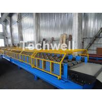 Customized Trapezoidal Profile Roof Roll Forming Machine With Hydraulic Post
