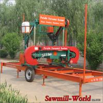 China Hot Sale!!! MJ1000 Wood Horizontal Band Sawmill Coconut Cutting Portable Saw Mill Machine wholesale