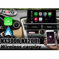 China Wireless carplay interface by Lsailt for Lexus NX NX300 NX200t NX300h android auto on sale