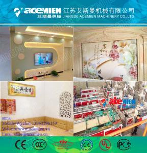 Quality PVC/WPC plastic profile extrusion machine production line for sale