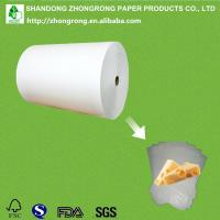 Quality PE coated paper for cheese wrapping for sale