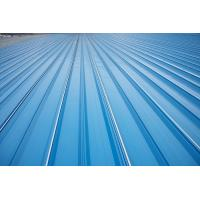 Quality Erosion Proof Corrugated Galvanized Steel Roofing Sheets Of Inter - Lock Type for sale