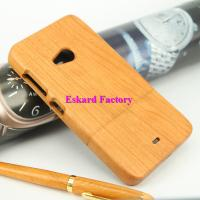 China Nokia 535 Cases Classic Retro Wood Phone Case Back Cover Genuine Natural Wood/Bamboo Phone Cover With Wholesale Price wholesale