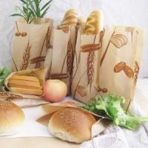 Quality Paper bag » Kraft Paper Bag Food Grade for Bread Chips Hamburg for sale