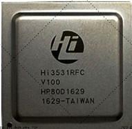 Quality 8 Channel  DVR SoC SDRAM Interface 2 Megapixel System On A Chip HI3531RFCV100 for sale