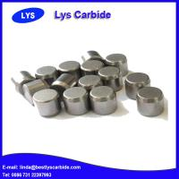 Quality Cemented carbide buttons & inserts for mining tools P types flat top button for sale