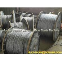 China FUX/FUH anti-twisting galvanized steel rope export wholesale