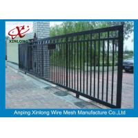 Buy cheap Professional Automatic Sliding Gates Galvanized Pipe Material 1m Height from wholesalers