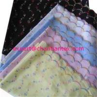 Quality All over eyelet embroidery fabric for sale