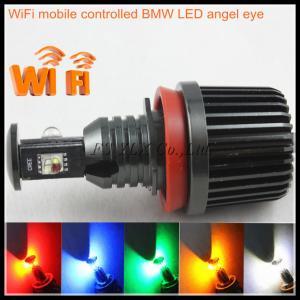 Quality Wifi control 32W RGB H8 LED angel eyes marker headlight for BMW E92 E60 E61 E63 E70 X5 E71 for sale