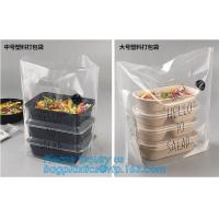 China fast food bags, Clear Resealable Resealable Bakery Cookie Candy Poly Cellophane Cello Bags,Customized food grade poly pl on sale