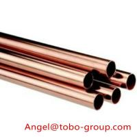 Quality Round Seamless Copper Tube With ASTM B42 For Air Conditioning for sale