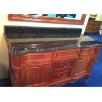 Quality Antique Triple Ogee  Jade Stone Countertops / Stone Vanity Top for sale