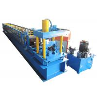 China Supermarket Storage Racking Roll Forming Machine Max 15m/min Forming Speed on sale