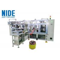 Quality Fully automatic 4 working stations stator coil lacing machine for sale