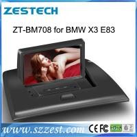 Quality ZESTECH Factory 2 din HD touch screen dvd car radio navigation system for bmw x3 e83 multimedia for sale