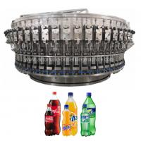 Quality High Speed Automatic Bottle Filling Machine Fizzy Drink , Sparkling Water Packaging for sale
