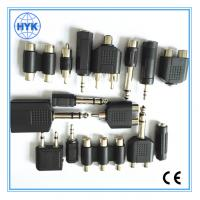 Quality Metal plated audio plug/RCA plug/connector/audio stereo jack plug for mobilephone/laptop computer for sale