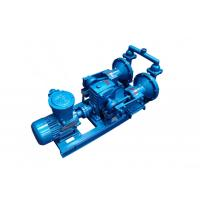 Quality Cast Iron Membrane Pumps Electric Motor Driven Water Pump Compact Structure for sale