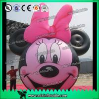 Quality Portable Oxford Cloth Inflatable Minnie Mickey Mouse Adventure Playground for sale