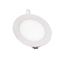 Quality Recessed -15 Celsius 5500k LED Round Flat Panel Light for sale