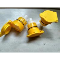 Quality Battery Vent Caps Regular Size Forklift Traction Battery Plastic Parts for sale