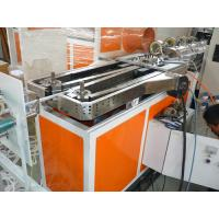Quality pe pp pvc pa single wall corrugated hose extrusion line production machine for sale for China supplier for sale