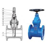 Quality RVHX\RVCX non rising stem resilient seated gate chemicals, power station valve for sale