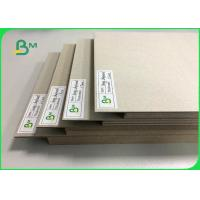 Quality 0.5mm To 3mm FSC Certified Laminated Grey Board Carton Gris For Book Binding Board Arch Lever Files for sale