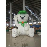Quality Hot newly promotional kids house shape commercial pvc inflatable cartoon for advertising for sale