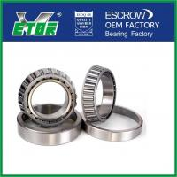 China Steel Cage Taper Roller Bearing For Rolling Mill , Car Wheel Bearing Low Friction on sale