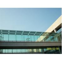 China BIPV Solar Module Customize Doulbe Glasses solar corridor Solar passageway wholesale