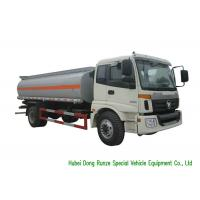 Quality FOTON AUMAN Fuel Delivery Truck With Stainless Steel Tank PTO Fuel Pump 12CBM for sale