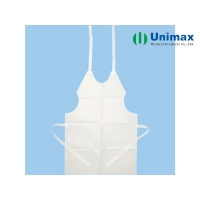 Quality Dental 60gsm Plastic Aprons For Adults for sale