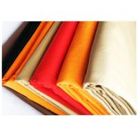 Quality Twill Colorful 100% Cotton Wrinkle Proof Fabric For Uniform , Various Colors for sale