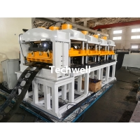 Quality 600mm Ladder Type Cable Tray Profile Roll Forming Machine Auto Size Adjustable for sale